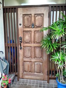 玄関ドア塗装前